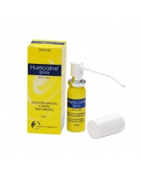 HURRICAINE PULVERIZADOR 200 MG/ML SOLUCION TOPICA PULVERIZADOR 5 ML
