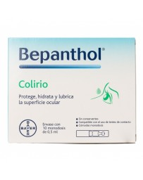 BEPANTHOL COLIRIO 10 X 0.5 ML