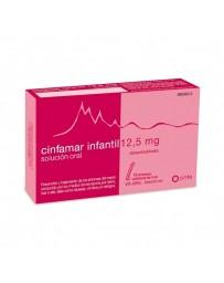 CINFAMAR INFANTIL 12.5 MG 12 SOBRES SOLUCION ORAL 5 ML