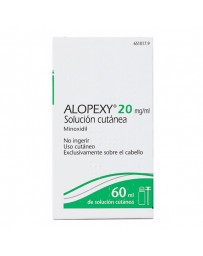 ALOPEXY 20 MG/ML SOL TOPICA 1 FRASCO 60 ML
