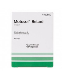 MOTOSOL RETARD 75 MG 30 CAPSULAS LIBERACION PROLONGADA