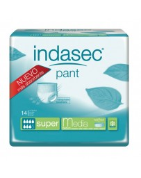 INDASEC PANT SUPER ABSORB INC ORINA DIA ANAT T- MEDIA 10 U