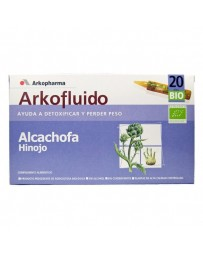 ALCACHOFA E HINOJO ARKO AMP BEBIBLES 20 AMPOLLAS