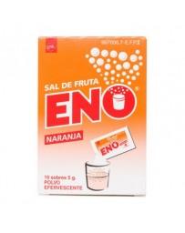 SAL DE FRUTA ENO NARANJA 5 G 10 SOBRES POLVO SOLUCION ORAL