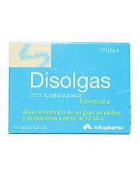 DISOLGAS 257.5 MG 32 CAPSULAS BLANDAS
