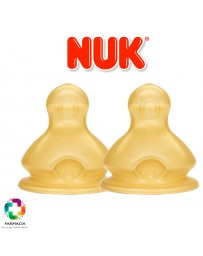TETINA LATEX ANTICOLICO NUK FIRST CHOICE LECHE T-2 M 2 U