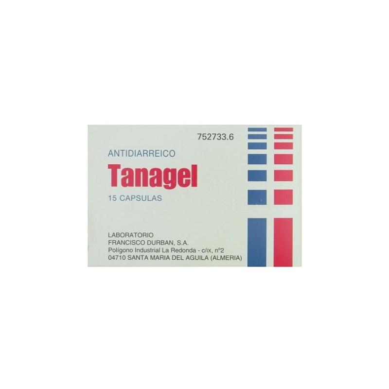 TANAGEL 15 CAPSULAS
