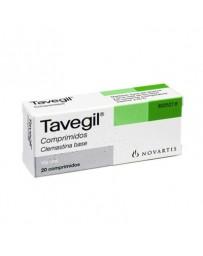 TAVEGIL 1 MG 20 COMPRIMIDOS