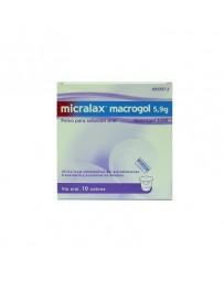 MICRALAX MACROGOL 5,9 G 10 SOBRES POLVO PARA SOLUCION ORAL