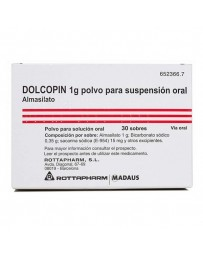 DOLCOPIN 1 G 30 SOBRES POLVO SUSPENSION ORAL