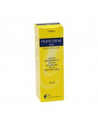 HURRICAINE 200 MG/ML GEL TOPICO 6 ML