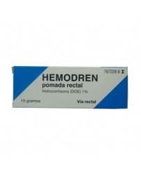 HEMODREN 10 MG/G POMADA RECTAL 15 G