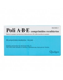 POLI ABE 5000/50/50 MG 30 COMPRIMIDOS RECUBIERTOS