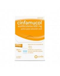 CINFAMUCOL ACETILCISTEINA 600 MG 10 SOBRES POLVO SOLUCION ORAL