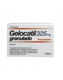 GELOCATIL 325 MG 12 SOBRES GRANULADO ORAL